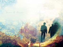 Sam and Dean Winchester by shadows-harlot