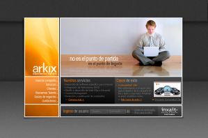 My Web Designs Arkix_1 by camilojones