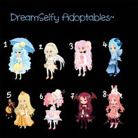 Selfy Adoptables-Draw or Write to Adopt [CLOSED] by SweetOnMyLips