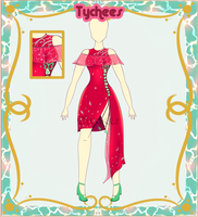 Outfit Adoptable (Auction) #16 (CLOSE!!!!) by Tychees