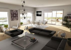 living room _ high resolution by sedatdurucan