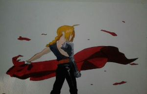 Edward Elric by Blackstar00000