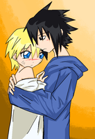 SasuNaru 005: Closer by AlienaxD