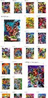 Marvel Universe Cards 2of3 by PencilInPain