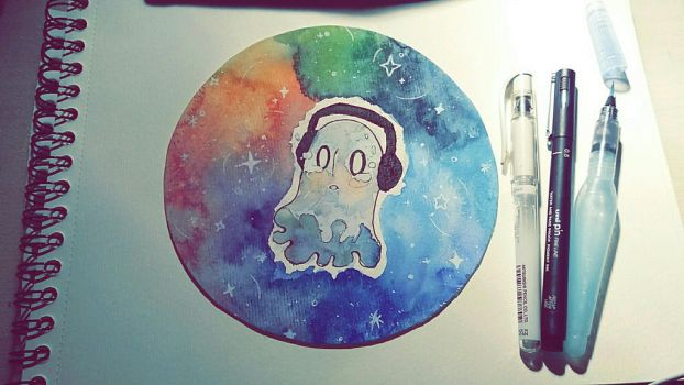Napstablook by MlleRoxy4