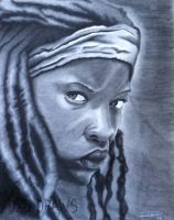 Michonne by DEDDraws