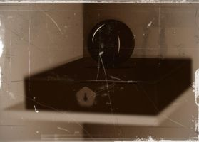 Orb and Box in Antique by GeneLythgow