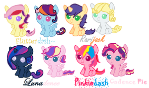 MLP Shipping Adopts! by Zeps-Adopts