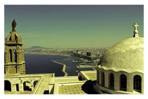 Fort Santa Cruz, Oran by dimajaber