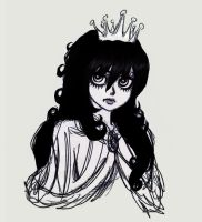 Monochrome Princess by Melgogs