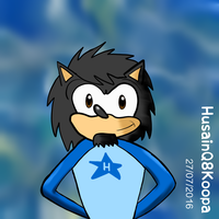 Me the hedgehog by HuswserStar