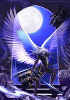 Trevor/Alucard Moonlight wings by SatoakiAmatatsu