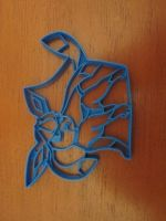 Glaceon Cookie Cutter 02 by B2Squared