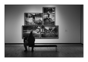 Four Way Contemplation by pubculture