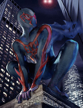 Spiderman2099 by Q-Dog2099