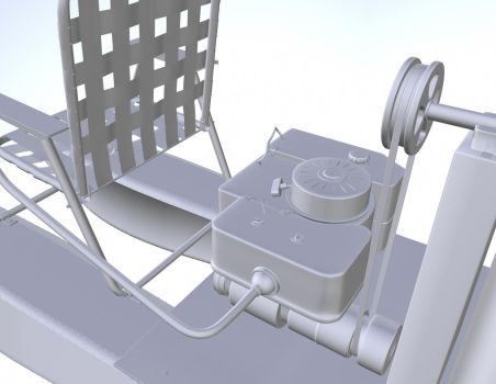 Lawn Chair Hovercraft 2 by beeliu