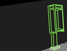 Bright Neon Payphone by MadejyalookGraphics