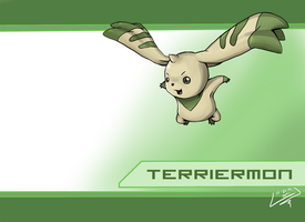 Terriermon wallpaper by wtfisalinh