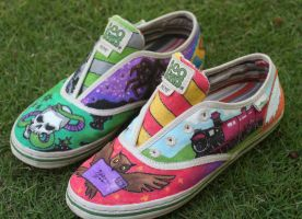 Potter Shoes by INKNOSE