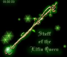 Magic Staff of the Elfin Queen by FantasyStock