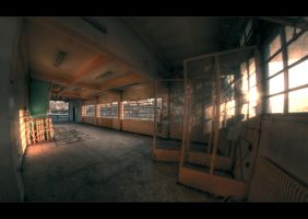 Empty light in a dead room. by bubus666