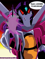 You Dare Defy LOOORD Starscream! by autobotchari