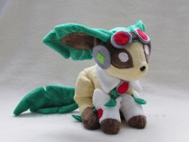 Leafeon Gumi cosplay by MagnaStorm