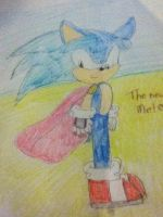 The new Sonic by Sonicthehedgehog224
