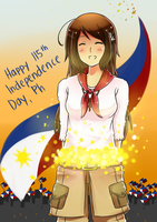 :: Happy Independence Day, Philippines :: by Sei-G