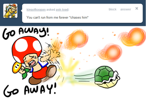 Tell Toad - Bowser gives chace by pocket-arsenal