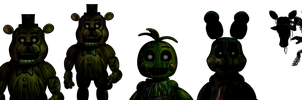 Five Nights at Freddy's 3[PhantomToys] by Christian2099