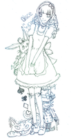 alice-in-wonderland by Nephilius