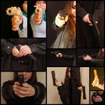 Hands Reference 003 - Guns by geoectomy-stock