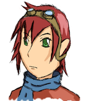 Guy with Scarf and Goggles by Man-of-Pants