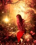 The Red Woods by juliet981