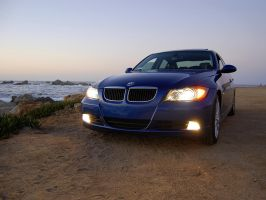 BMW 328 beach by Pacific Grove by Partywave