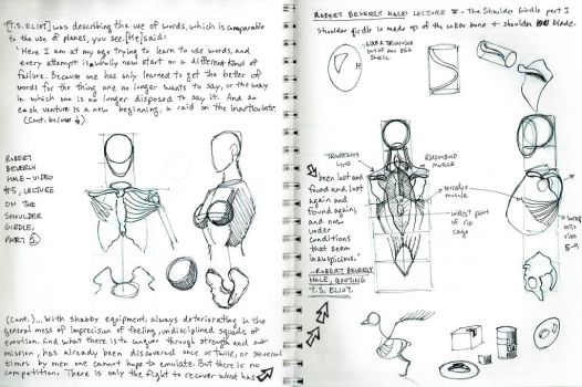 2015 Robert Beverly Hale Sketches and Notes 5 of 6 by arielaguire