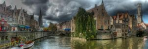 Bruegge HDR Panorama by multimediac
