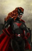 Bat Woman by Harben-Pictures