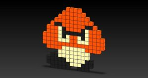 8-Bit Goomba by JoeCoool