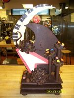 Chocolate Showpiece ROCK ON by Saiyuki08