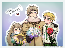 [Gift][APH] Thanks! by Margo-sama