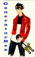 generator rex by blackflameknight