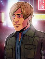 Leon S. Kennedy by Lunapocalypse