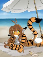 Flora on the Beach by Twokinds