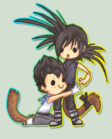 Chibi Jago and Prouts by griffsnuff