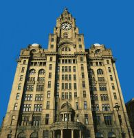 Liverpool Liver Building Paint By Number Art Kit by numberedart
