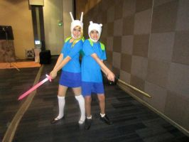 Fionna and Finn Cosplay Lawl by janelvalle