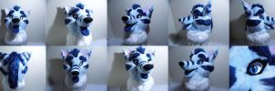 Shay Fursuit Head by Papahodou