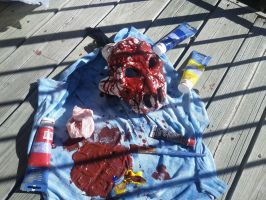 Splatterhouse Cosplay and it's 99.9% done by Angemfire